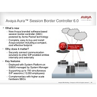 Avaya Aura® Session Border Controller