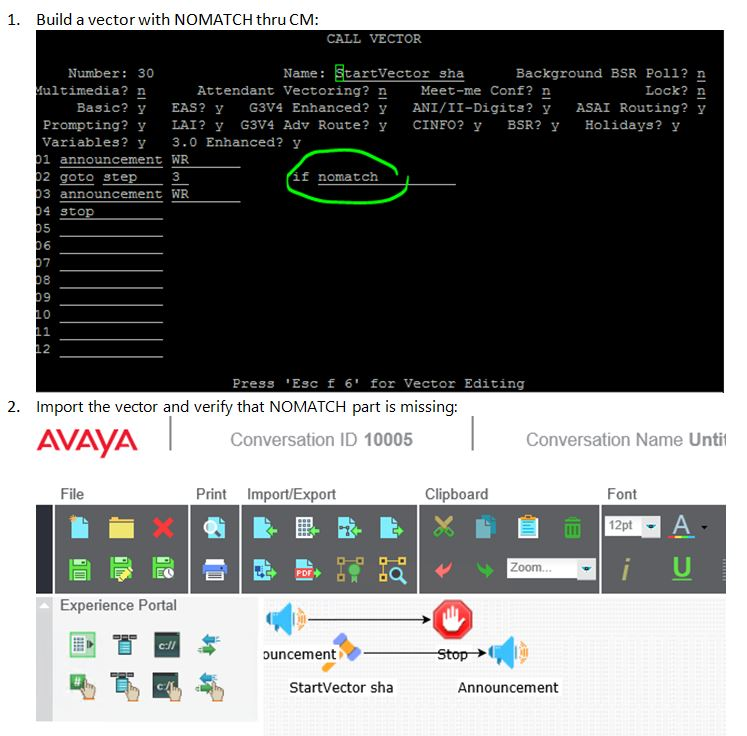 Avaya Support - Knowledge Base InQuira InfoCenter - Control Manager